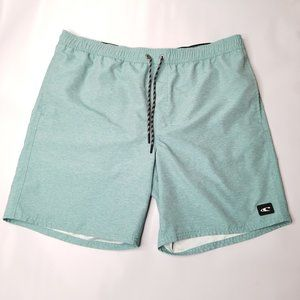 O'neill Heathered Green Board Shorts Swim Trunks